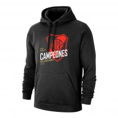 River Plate 'Campeones 19' footer with hood, black