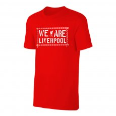Liverpool 'We Are LIVERPOOL' t-shirt, red