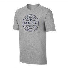 Manchester City 'Stamp' t-shirt, grey