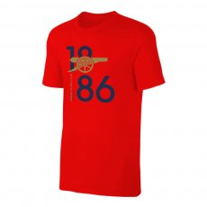 """Arsenal """"CANNON 1886"""" t-shirt, red"""