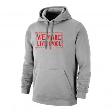 Liverpool 'We Are LIVERPOOL' footer with hood, grey