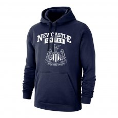 Newcastle 'Curve' footer with hood, dark blue