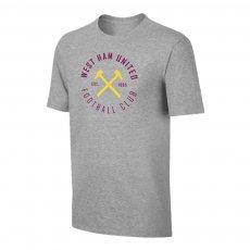 West Ham 'Circle' t-shirt, grey