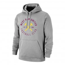 West Ham 'Circle' footer with hood, grey