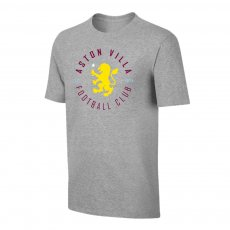 Aston Villa 'Circle' t-shirt, grey