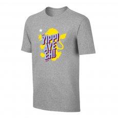 Aston Villa 'Yippi Aye Eh!' t-shirt, grey