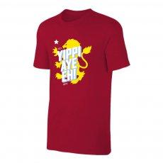 Aston Villa 'Yippi Aye Eh!' t-shirt, crimson