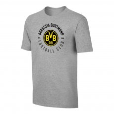 Borussia Dortmund 'Circle' t-shirt, grey