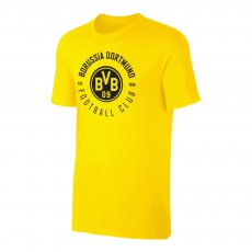 Borussia Dortmund 'Circle' t-shirt, yellow