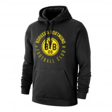 Borussia Dortmund 'Circle' footer with hood, black