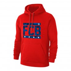 Bayern Munich 'Camouflage' footer with hood, red