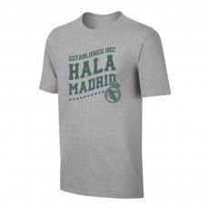 Real Madrid 'Hala Madrid' t-shirt, grey
