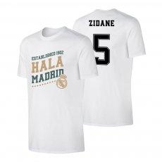 Real Madrid 'Hala Madrid' t-shirt ZIDANE, white