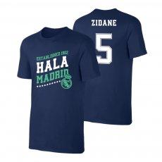 Real Madrid 'Hala Madrid' t-shirt ZIDANE, dark blue