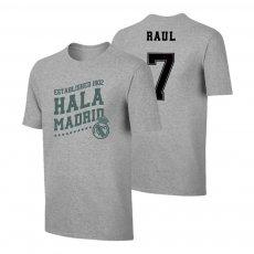 Real Madrid 'Hala Madrid' t-shirt RAUL, grey