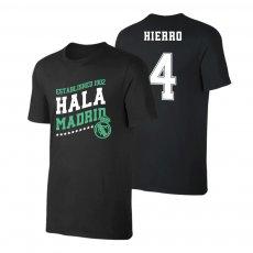 Real Madrid 'Hala Madrid' t-shirt HIERRO, black