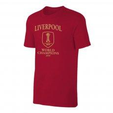 Liverpool 'World Club Champions '19' t-shirt, crimson