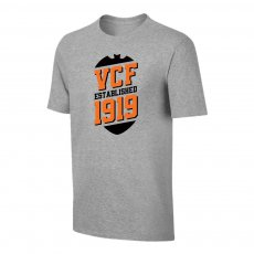 Valencia 'VCF' t-shirt, grey