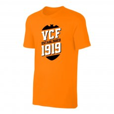 Valencia 'VCF' t-shirt, orange
