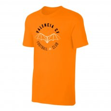 Valencia 'Circle' t-shirt, orange