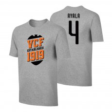 Valencia 'VCF' t-shirt AYALA, grey
