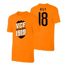 Valencia 'VCF' t-shirt GONZALEZ, orange