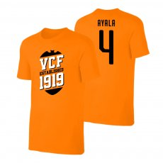 Valencia 'VCF' t-shirt AYALA, orange
