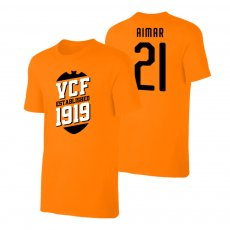 Valencia 'VCF' t-shirt AIMAR, orange