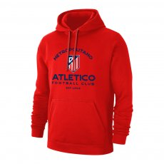 Atletico Madrid 'Estadio' footer with hood, red