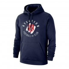Atletico Madrid 'Circle' footer with hood, dark blue