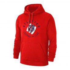 Atletico Madrid 'Circle' footer with hood, red