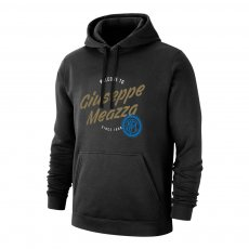 Inter 'Giuseppe Meazza' footer with hood, black