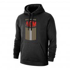Milan 'ACM' footer with hood, black
