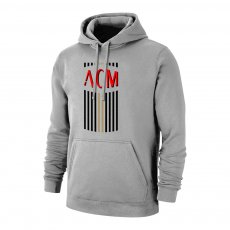 Milan 'ACM' footer with hood, grey