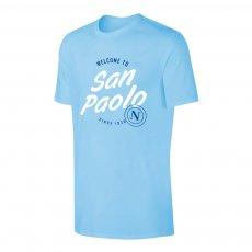 Napoli 'San Paolo' t-shirt, light blue