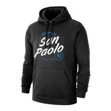 Napoli 'San Paolo' footer with hood, black