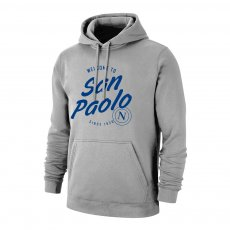 Napoli 'San Paolo' footer with hood, grey
