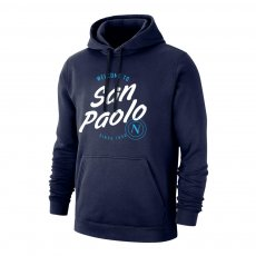 Napoli 'San Paolo' footer with hood, dark blue