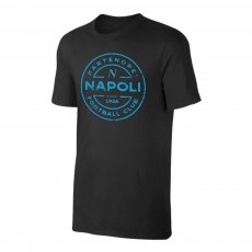 Napoli 'Stamp' t-shirt, black