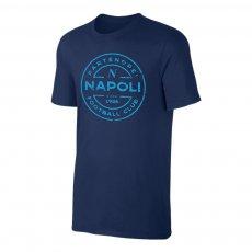 Napoli 'Stamp' t-shirt, dark blue