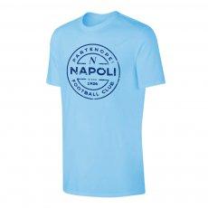 Napoli 'Stamp' t-shirt, light blue
