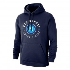 Napoli 'Circle' footer with hood, dark blue