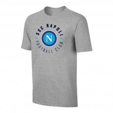 Napoli 'Circle' t-shirt, grey