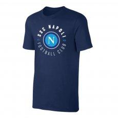 Napoli 'Circle' t-shirt, dark blue