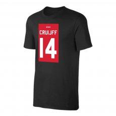 Ajax 'ΤΕΑΜ Shirt' t-shirt CRUIJFF, black