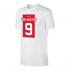 Ajax 'ΤΕΑΜ Shirt' t-shirt VAN BASTEN, white