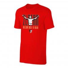 Milan 'Zlatan Welcome Back' t-shirt, red