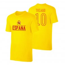 Spain EU2020 'Qualifiers' t-shirt ALCÂNTARA, yellow
