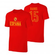 Spain EU2020 'Qualifiers' t-shirt RAMOS, red