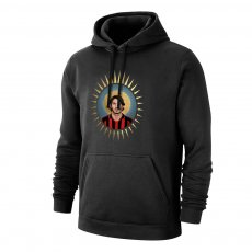 Milan 'Holy Maldini' footer with hood, black